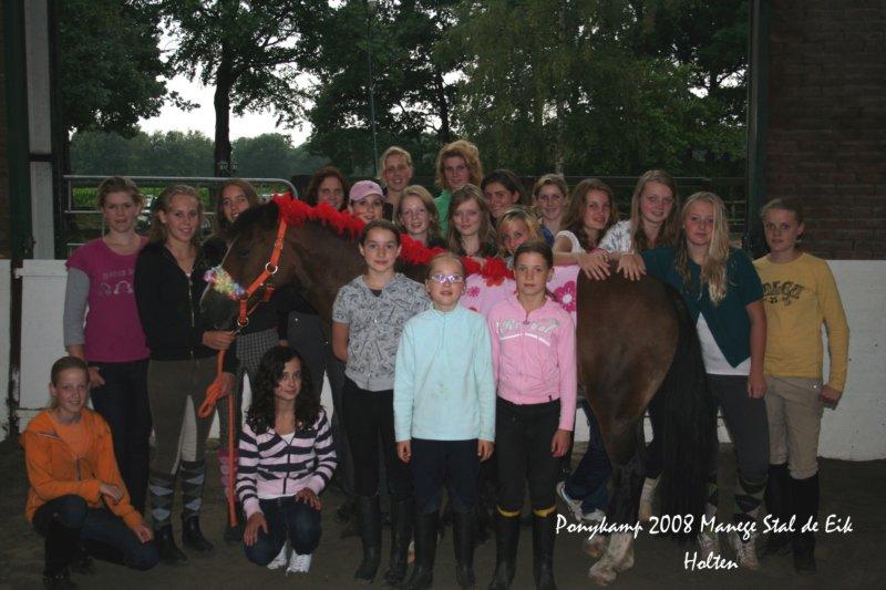 Klik op de foto voor alle andere foto's van het tweede ponykamp
